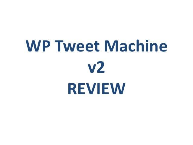 tweet machine