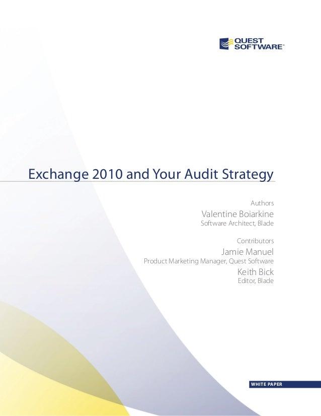 Wpw exchange2010 audit_us