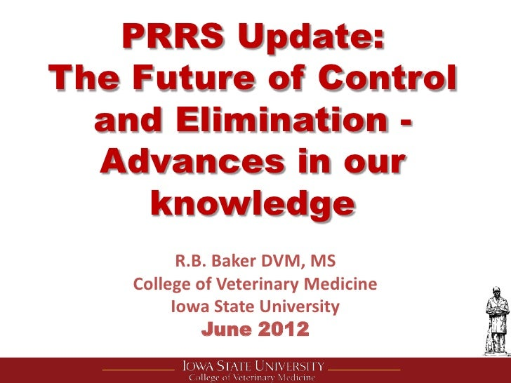 Dr. Butch Baker - Advances in PRRS research
