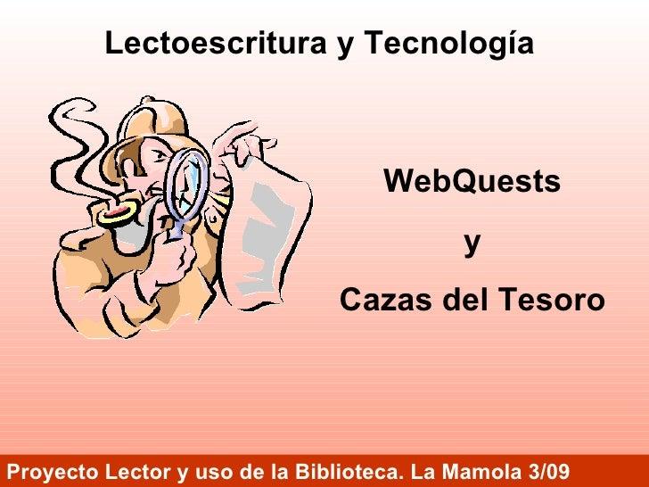 Lectoescritura y Tecnología