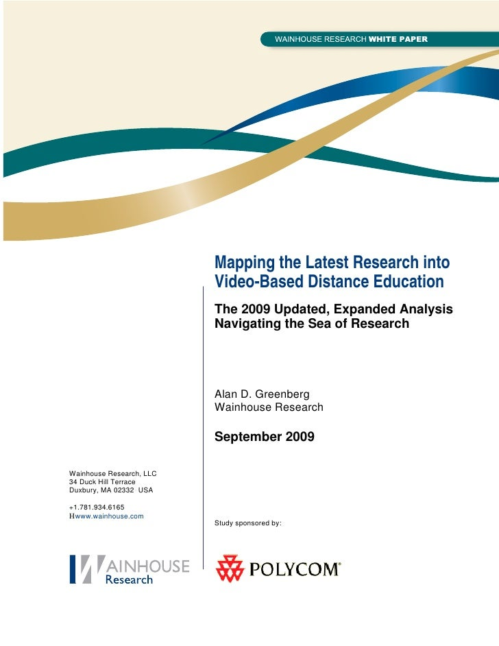 WR Paper: Mapping the Latest Research into Video-Centric ...