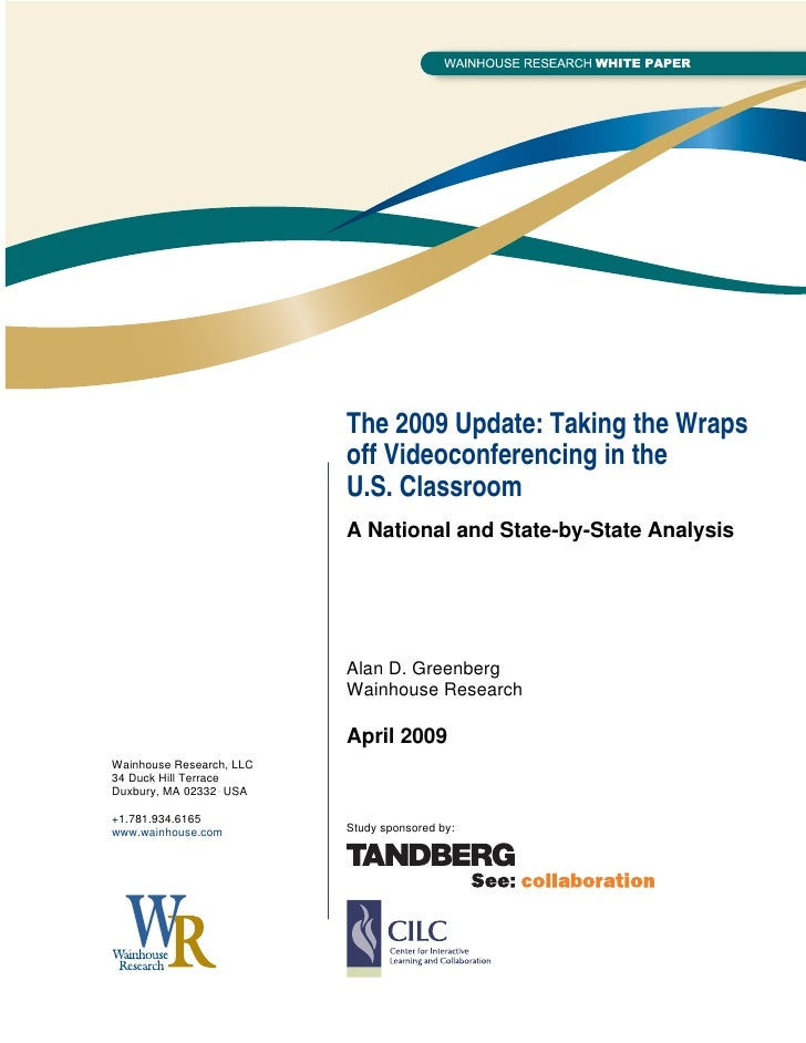 WR Paper: The 2009 Update: Taking the Wraps off ...