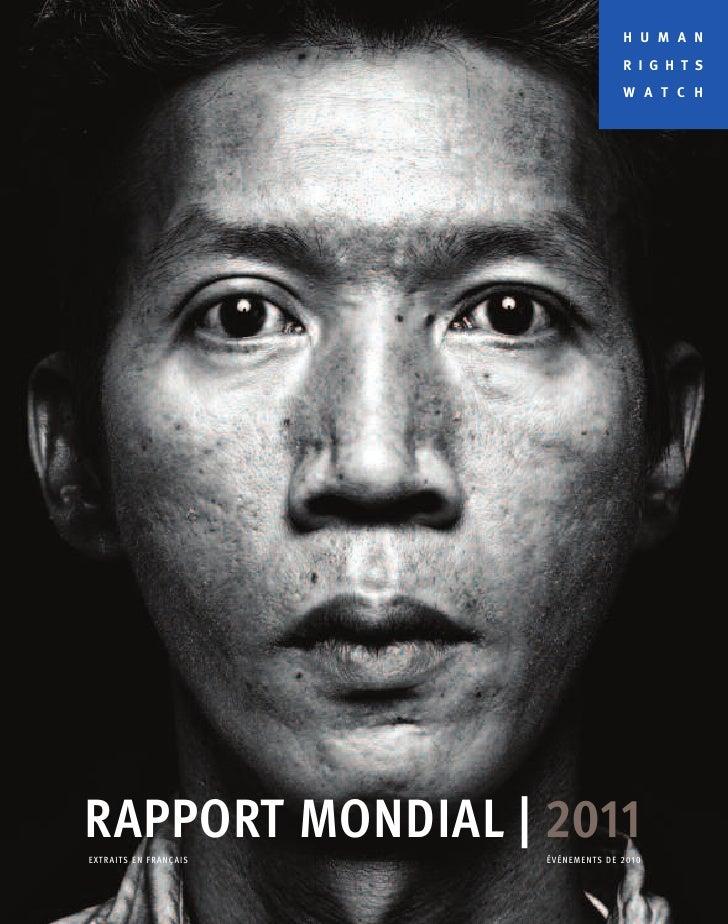 Human Rights Watch En français