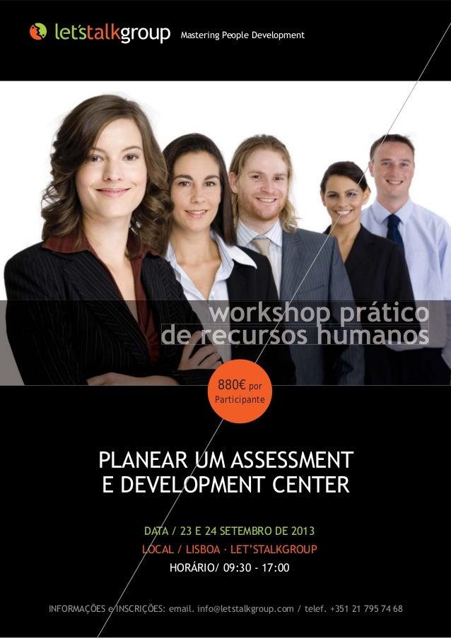 Workshop | Planear um Assessment e Development CenterWrhlx6