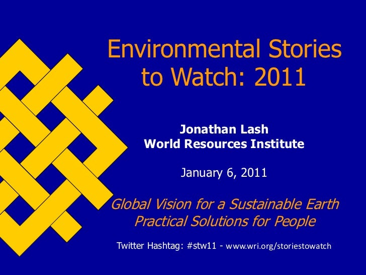 Environmental Stories to Watch in 2011