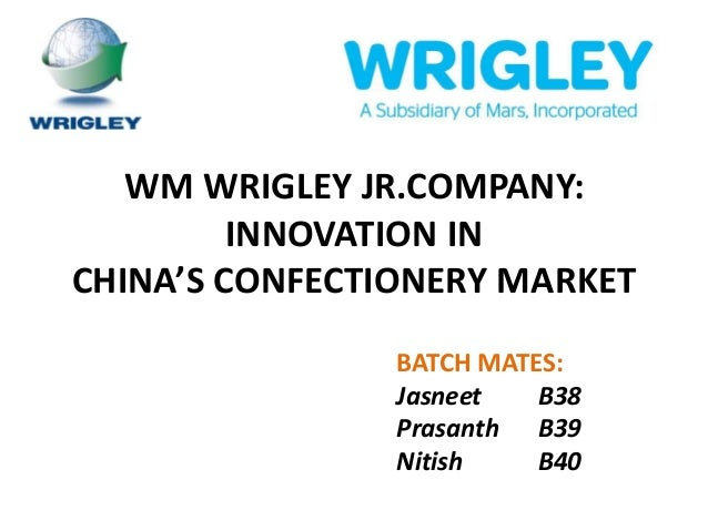 wrigley jr company essay Free essay: the university of hong kong case study on wm wrigley jr company individual written assignment table of contents executive.