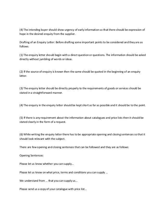 Business Letter Urgent 4.