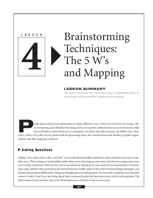 AP Timed Writes: how long should you spend brainstorming?