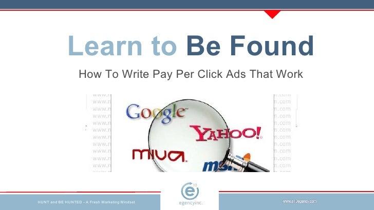 Digital Agency | e10 | Write Better PPC Ads | Toronto