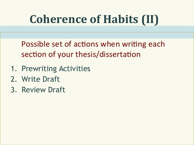What is and how to write a thesis?