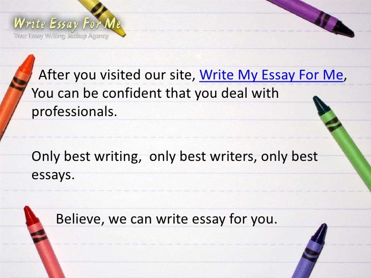 Write My Essay Uk