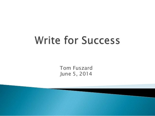 Tom Fuszard June 5, 2014