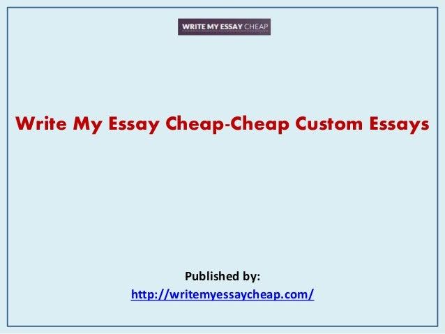 Buy a custom essay