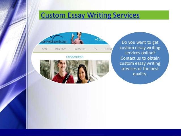 Online essay revision