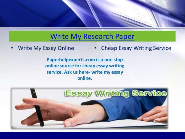 Write my report for me
