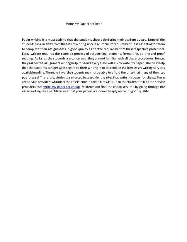 Help me do my essay cheap