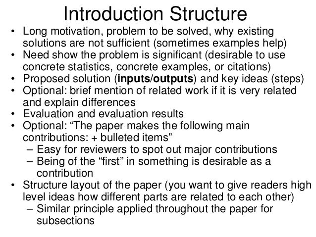 introduction for a research paper for science fair Writing a quality paper  write about research that is relevant  nearly a third of the points awarded in the science fair come from the score on the paper.