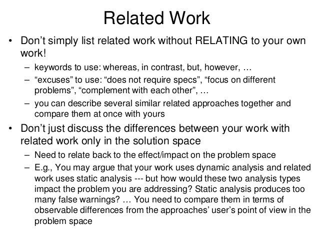 Problem solution research paper example