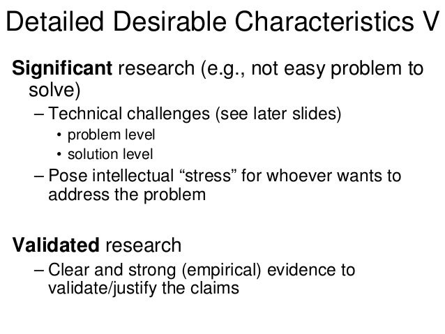 What are the significant in writing research paper?