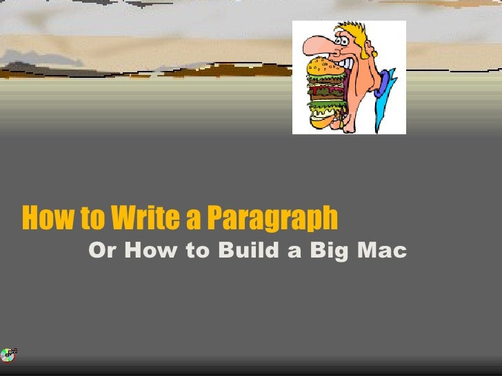 Write paragraph
