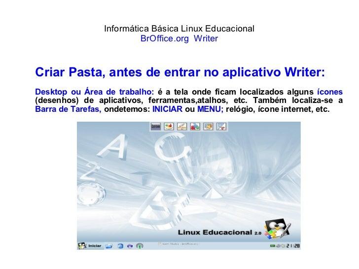 Writer Linux