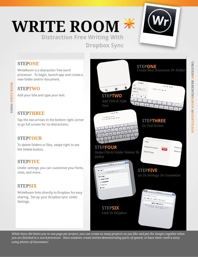 WriteRoom App Tutorial
