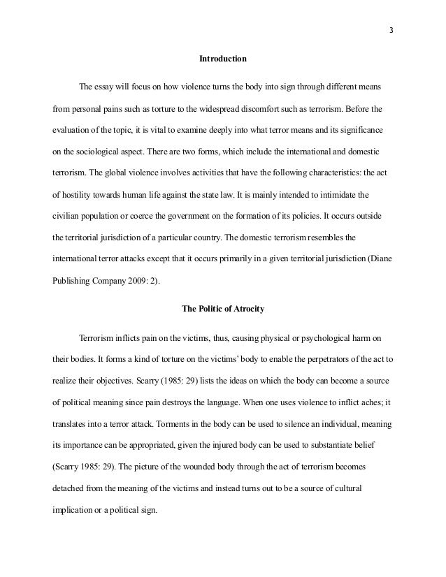 Sociology term paper