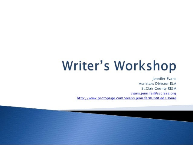 Writer's workshop crull