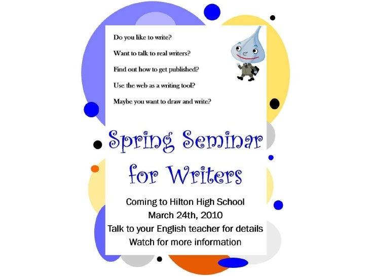 Writer workshop