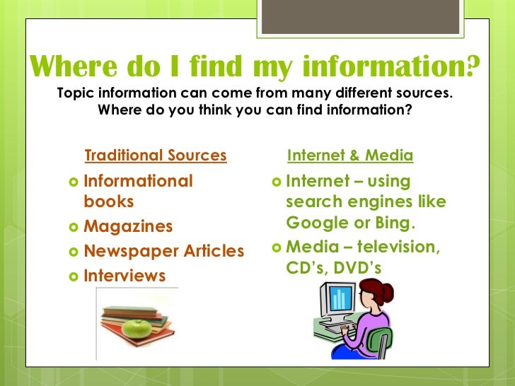 Introduction To Informative/Explanatory Texts