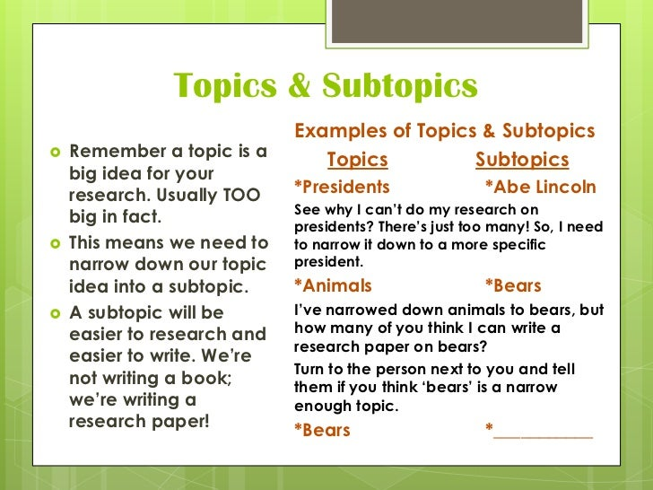 i need a topic for a research paper This blog post contains 25 interesting research paper topics to get you started essay writing you'll need them when you become the next host of the tonight.