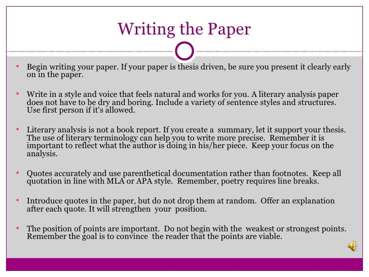 how to write a thesis driven paper How to write a thesis driven essay click heredriven one of the biggest employers in the world the very first.