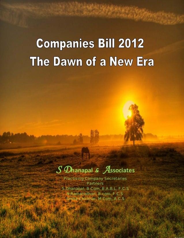 S Dhanapal & Associates Practising Company Secretaries Partners S.Dhanapal, B.Com, B.A.B.L, F.C.S N.Ramanathan, B.com, F.C...