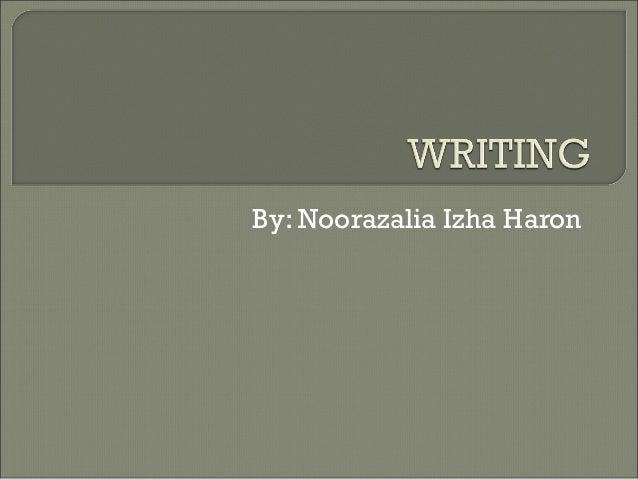 By: Noorazalia Izha Haron