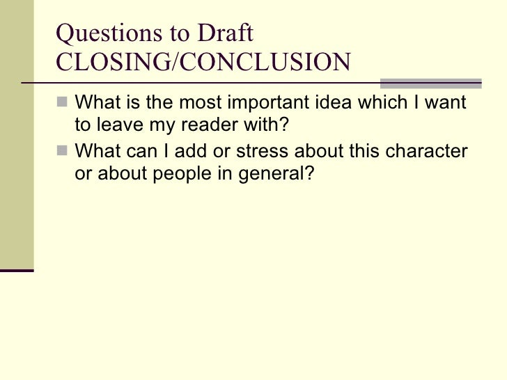 write literary analysis essay conclusion