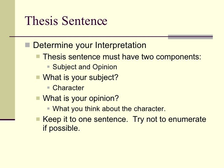 What is to analyze an essay