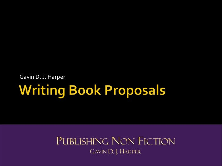Writing Book Proposals