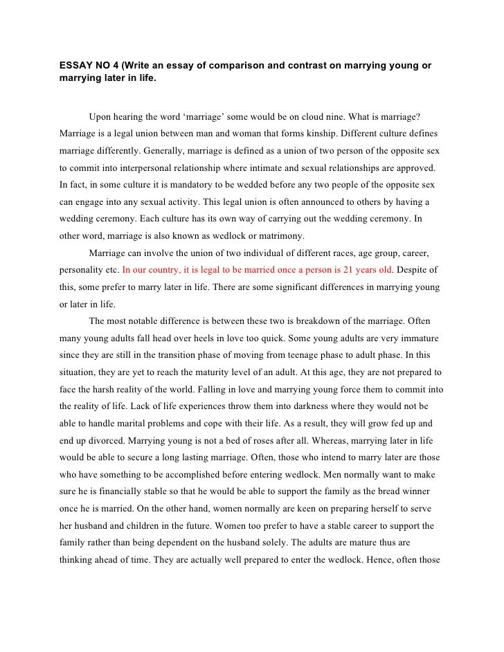 argumentative essay for gay marriage