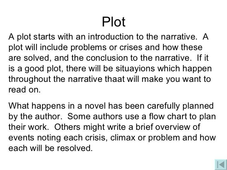 Plot writing