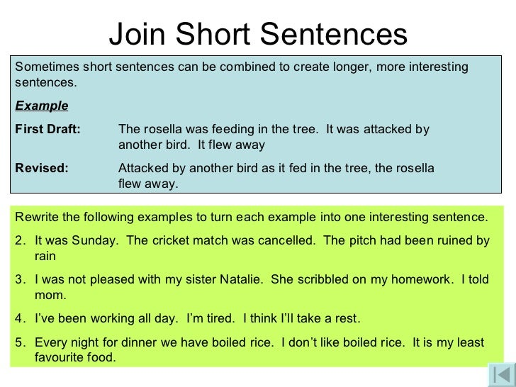 How to phrase a sentence better