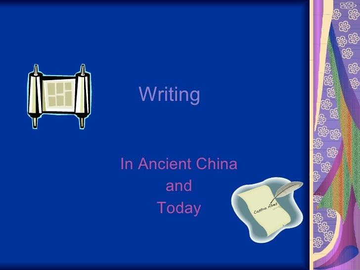Writing Rachel