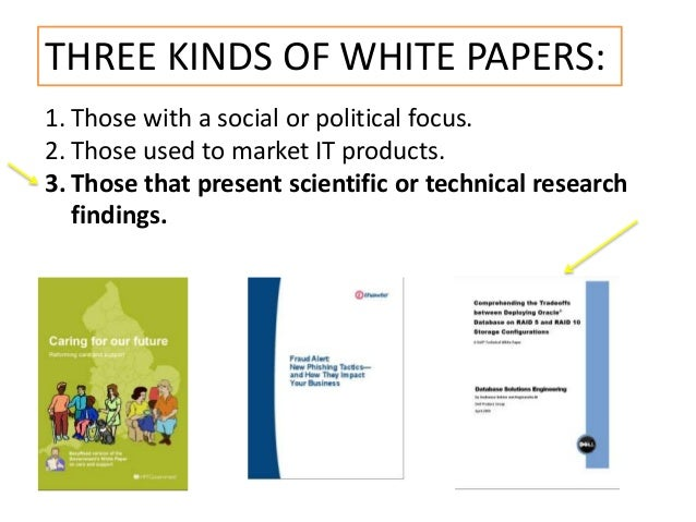 market research white paper