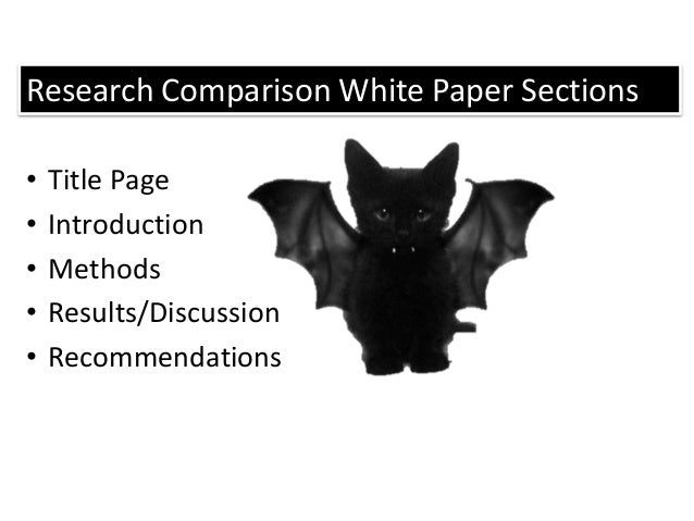 Comparison research paper