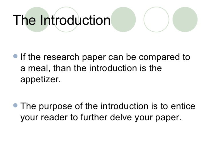 who to write an introduction for a research paper How to write an introduction of a research paper publication date: 26 feb 2018 for many students, the introduction of a research paper may appear to be the most tricky part of the assignment its length may vary depending on what kind of paper you're going to write.