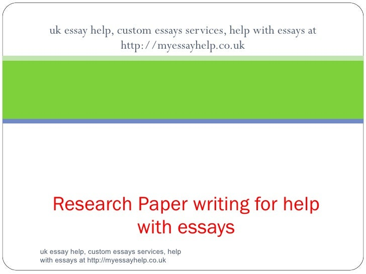 uk essay help, custom essays services, help with essays at http://myessayhelp.co.uk Research Paper writing for help with e...