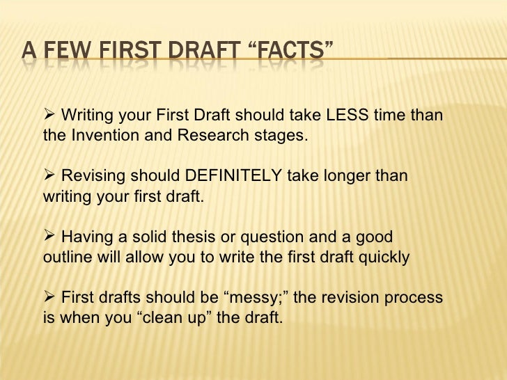 First research paper?