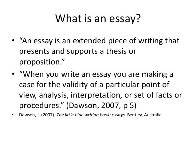 essay writing paragraph development