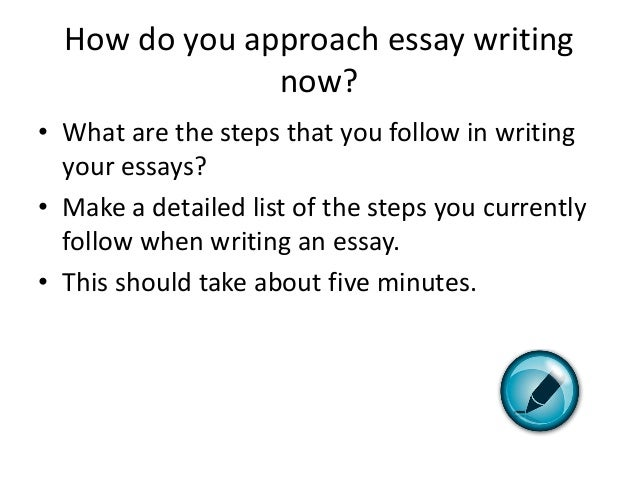 How Write A Essay In English