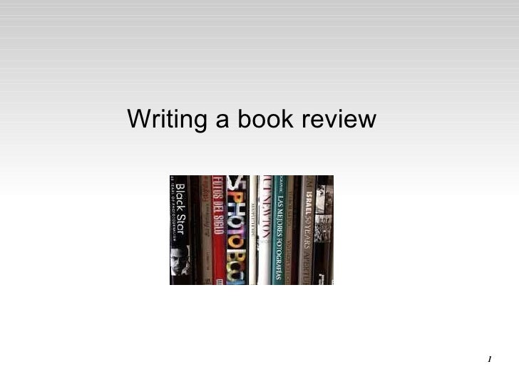 Write my review for books