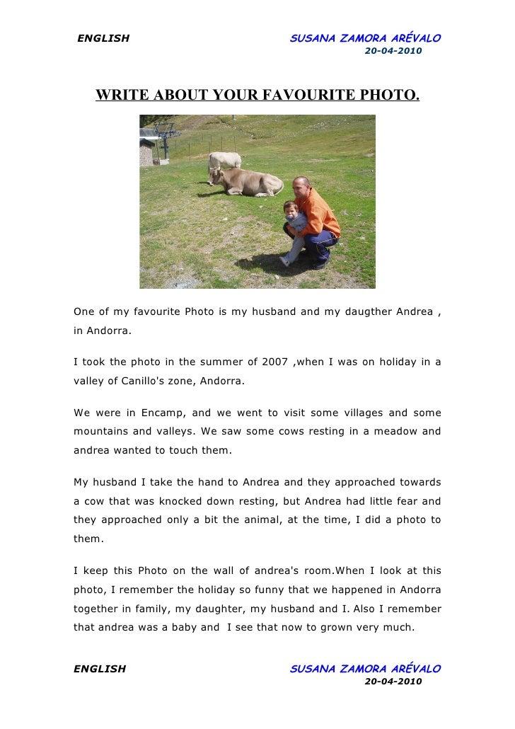 My favorite writer essay